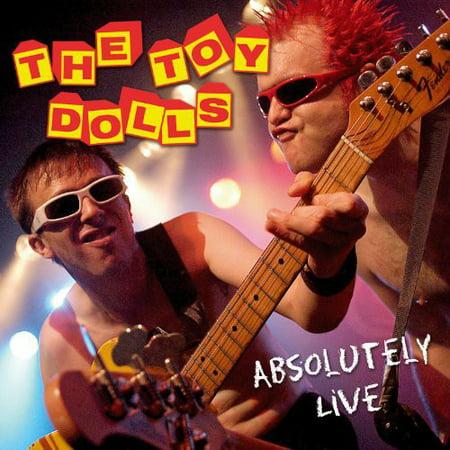 Vo Toy Vinyl - Toy Dolls-Absolutely Live