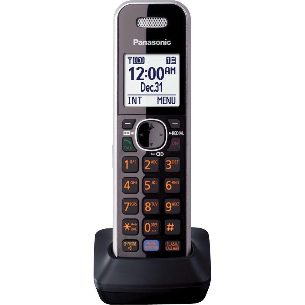 Panasonic Consumer Additional Cordless Handset in Silver
