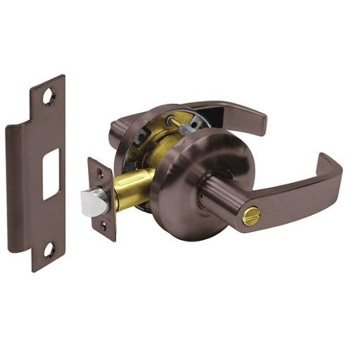 SARGENT 28-65U65 KL 10B Door Lever Lockset,Right Angle,Privacy