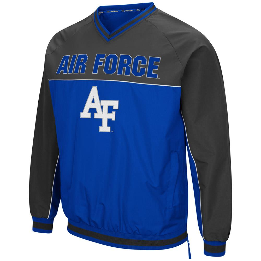 Mens Air Force Falcons Windbreaker Jacket M by Colosseum