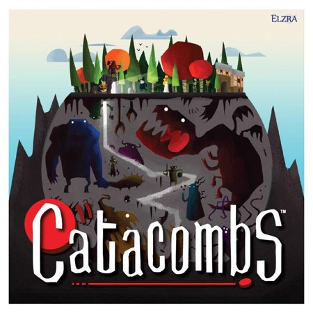 Catacombs 3rd Printing Action Dexterity Based Fantasy Board Game Elzra B0189A5T7Q](Base Ten Games)