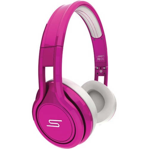 Sms Audio Street By 50 On-ear Headphones - Stereo - Pink - Wired - Gold Plated - Over-the-head - Binaural - Circumaural (sms-onwd-sprt-pnk)
