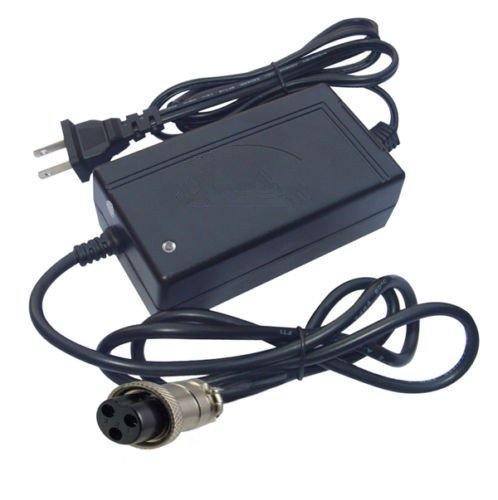 36V Scooter Bike Battery Adapter Power Cord Charger Suppl...