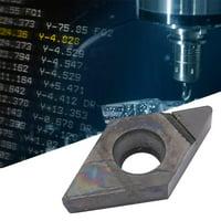 Greensen DCGT070204 PCD Diamond Blade Insert CNC Lathe Cutter Turning Tool