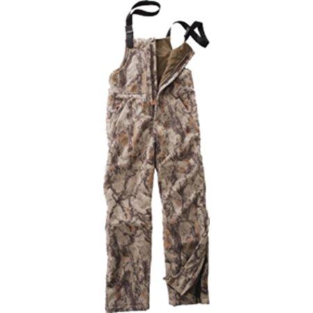 Natural Gear Fleece Windproof Bibs Natural Camo - Two Layer Windproof Fleece