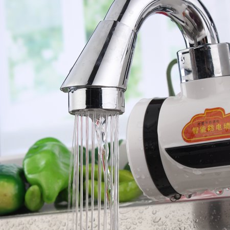 Tankless Instant Electric Hot Water Heater Faucet Bathroom Kitchen Heating Tap - image 5 de 10