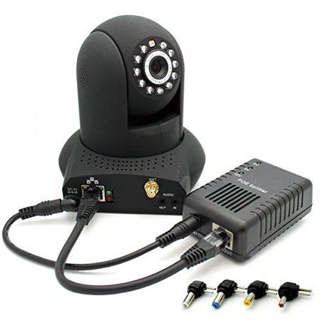 Amcrest Active PoE Splitter Adapter, Up To 100 meters, 5V / 12V Output