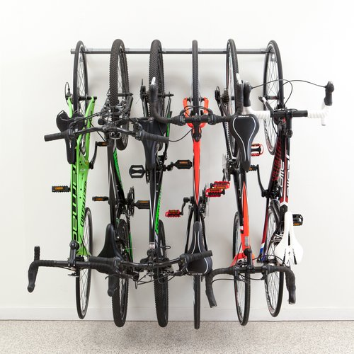 Monkey Bar Storage 6 Bike Storage Wall Mounted Bike Rack by Monkey Bar Storage