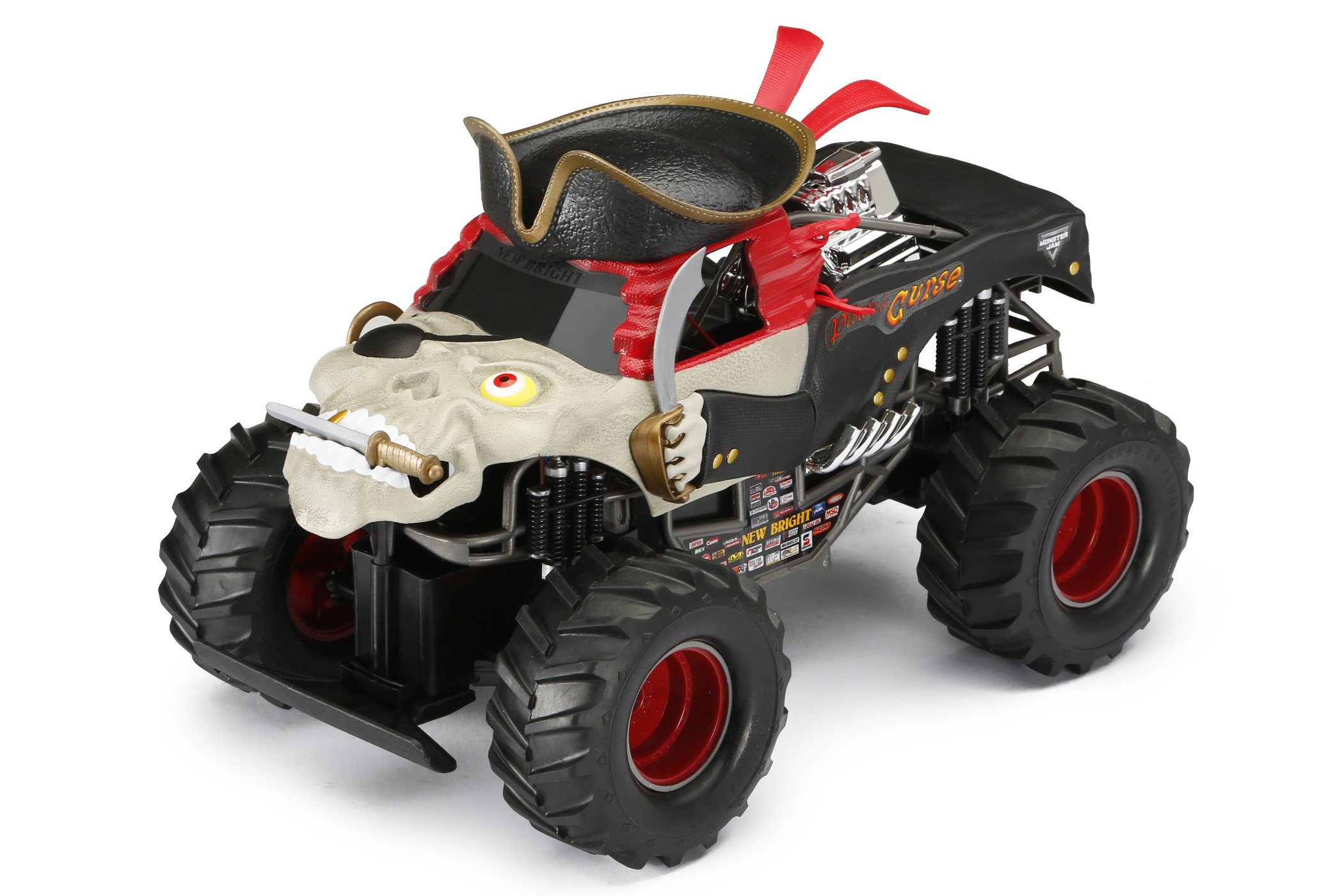 New Bright 1:15 Scale Radio Control Monster Jam Truck by New Bright Industrial Co., Ltd.