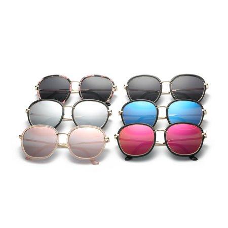 2186 Fashion Woman Man Sunglasses Stylish Oversize Glasses Hardening Eyewear - image 4 of 8