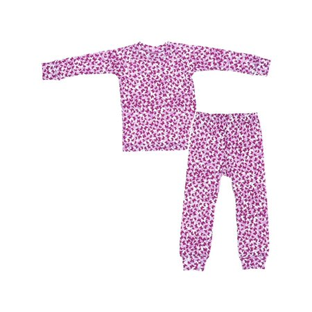 Sweet Potatoes Butterfly Cotton Pajamas for Toddlers and Girls - Butterfly Pajamas