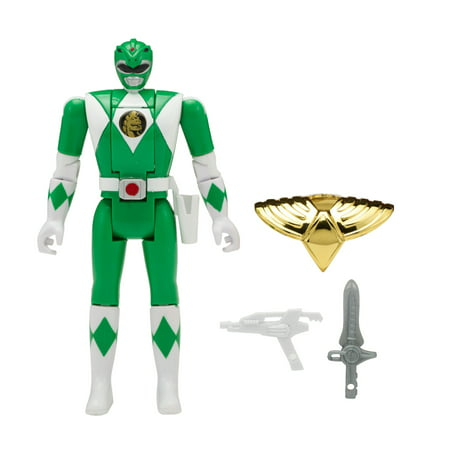 Green Power Ranger Suit (Bandai - Power Rangers Mighty Morphin Head Morph Figure, Green)