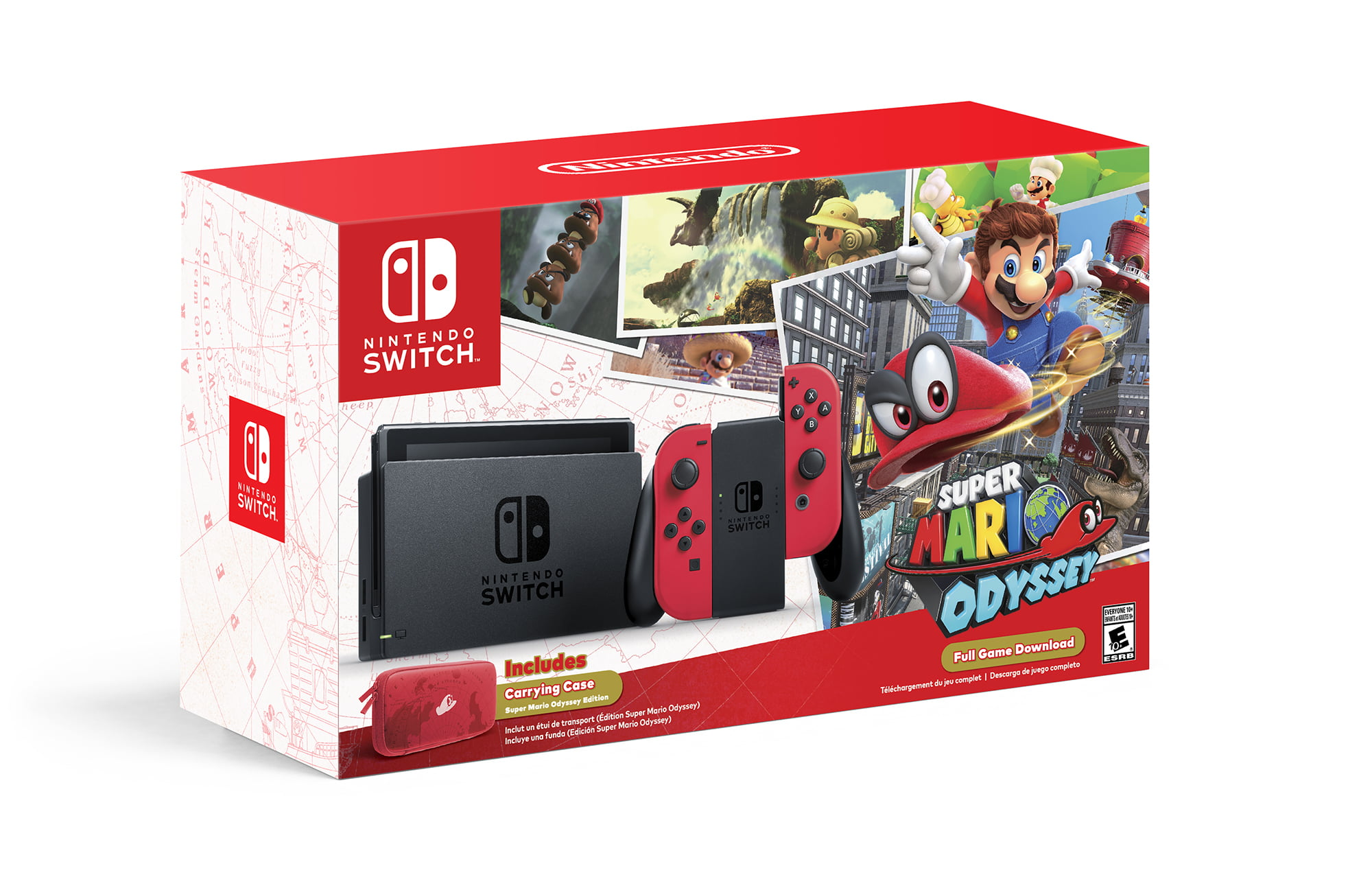 Nintendo Switch Super Mario Odyssey Edition Walmart Com