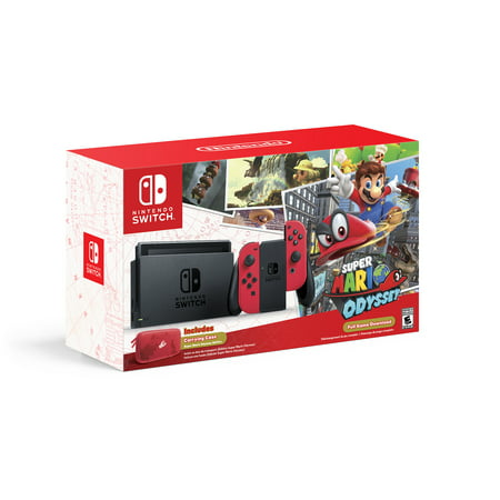 nintendo switch super mario odyssey edition. Black Bedroom Furniture Sets. Home Design Ideas