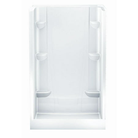 A2 34 In X 48 76 Shower Stall White