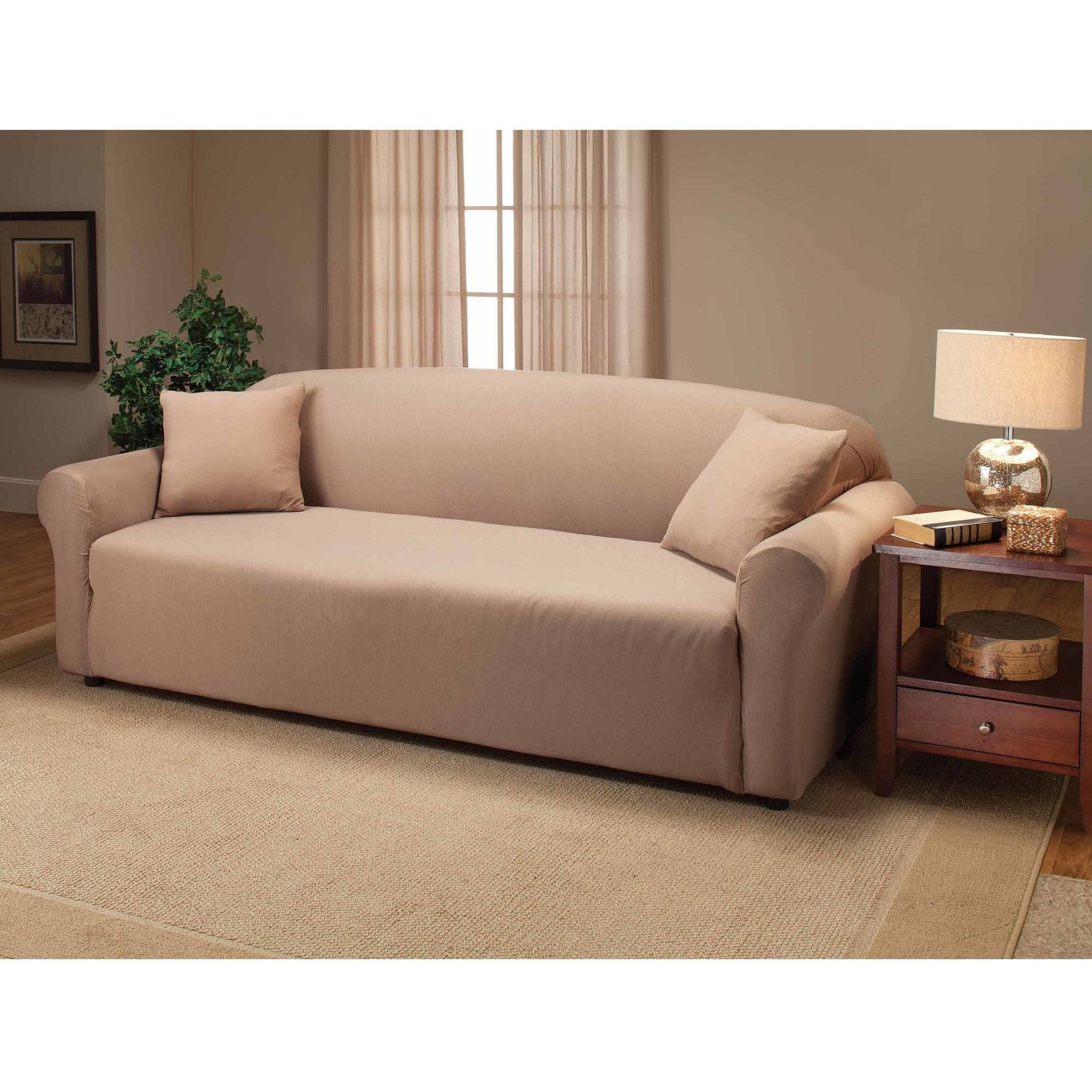 Jersey Stretch Sofa Slipcover Walmartcom