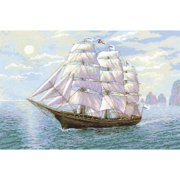 """Tailwind Counted Cross Stitch Kit, 23.5"""" x 15.75"""", 14-Count"""