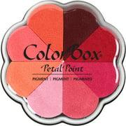 ColorBox Pigment Petal Point Ink Pad 8 Colors-Kiss