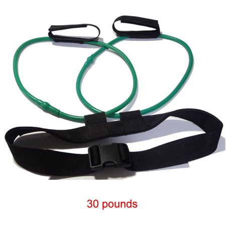 Leg Elastic Band Natural Latex Elastic Slimming Band Training Yoga Assisted Leisure Fitness Products (30 lbs) - image 1 de 1