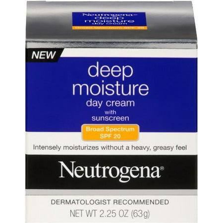 Neutrogena Crème de jour SPF 20 Hydratation profonde 2,25 Ounce