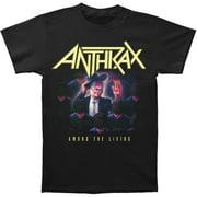 Anthrax Men's Among The Living T-Shirt Black