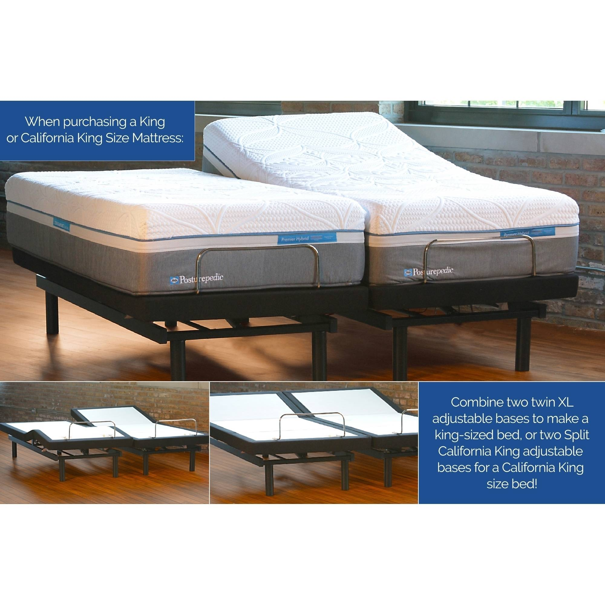 Ease Adjustable Bed Base Multiple Sizes Walmartcom