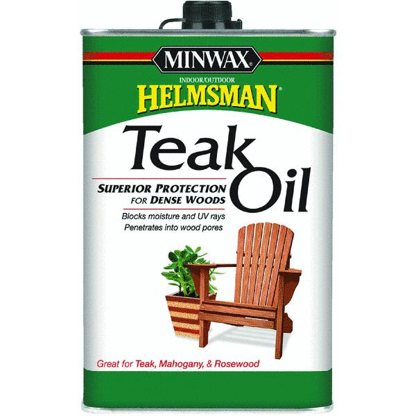 Minwax Helmsman Teak Oil Finish