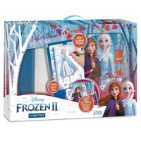 Disney Frozen 2 Fashion Design Tracing Light Table (Includes Light Table, Disney Sketchbook, Stencils, Stickers, Design Guide and More)