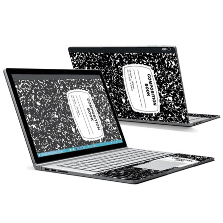 mightyskins protective vinyl skin decal for microsoft surface book