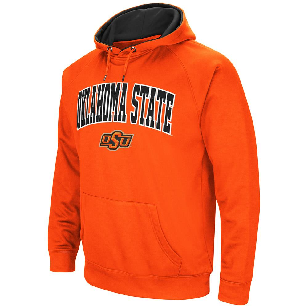 Mens Oklahoma State Cowboys Fleece Pull-over Hoodie by Colosseum