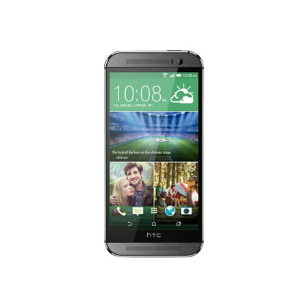 HTC One M8 Factory Unlocked Smartphone with 32 GB Memory, Nano-SIM support and 5.0-Inch Display US Warranty (Gunmetal