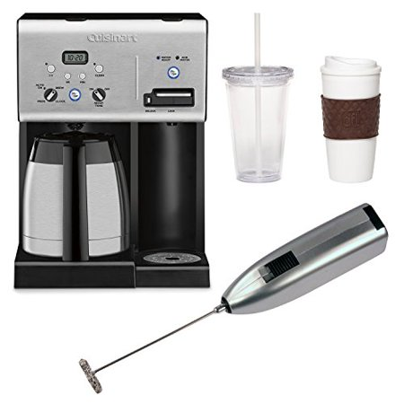 Cuisinart 10 Cup Coffee Maker With Hot Water System : Cuisinart CHW-14 Coffee Plus 10-Cup Programmable Coffeemaker and Hot Water System with Accessory ...