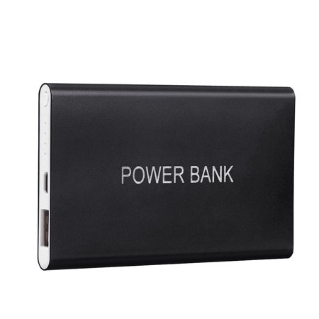 BEAD BEE Ultrathin 12000mAh Portable USB External Battery Charger Power Bank For Phone ()