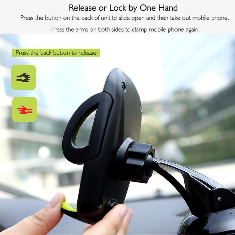 Universal Car Windshield Mount Holder Stand Bracke for Cell Phone GPS MP4