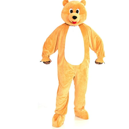 Mascot Bear Teen Costume](Animal Mascot Costumes)