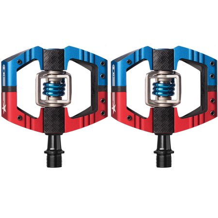 Crank Brothers Mallet Pedal (Crank Brothers Mallet E LS Long Spindle USA Limited Edition Red/Blue Bike Pedals)