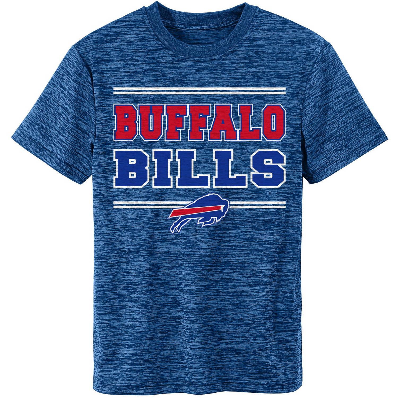 NFL Buffalo Bills Youth Short Sleeve Space Dye Tee
