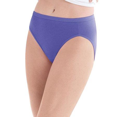 4a289e9ea556 Hanes® Cool Comfort Women's Cotton Hi-Cut Panties 6-Pack - PP43WB