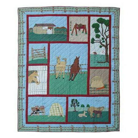 Patch Magic Horse Quilt