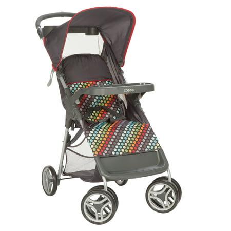 Cosco Lift & Stroll™ Stroller, Rainbow Dots - Walmart.com