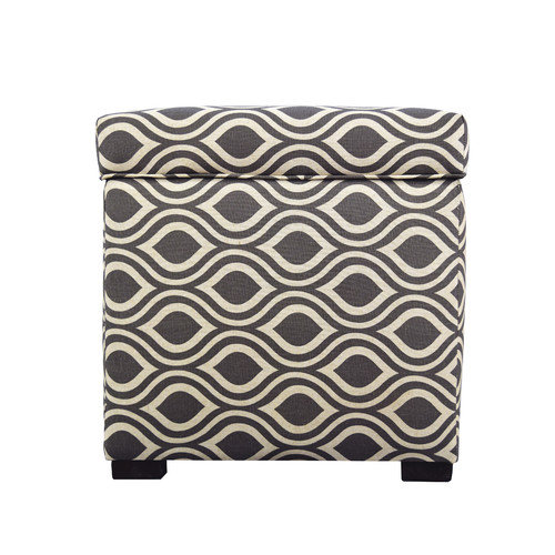 MJL Furniture Tami Nicole Square Storage Ottoman