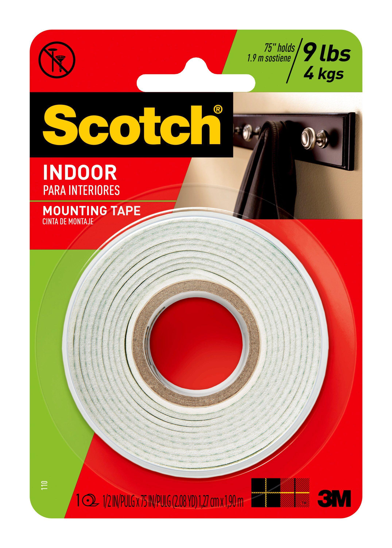 Scotch Heavy-Duty Interior Exterior Mounting Tape