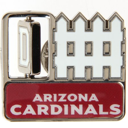 "Arizona Cardinals WinCraft 1"" x 1"" Fence Pin - No Size"