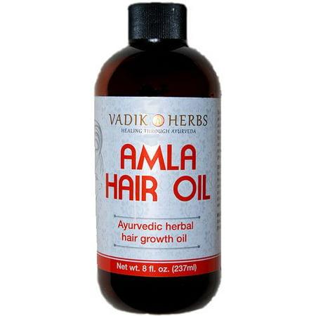 Amla Hair Oil (8 oz)- Ayurvedic herbal hair growth oil ~ Herbal scalp  treatme