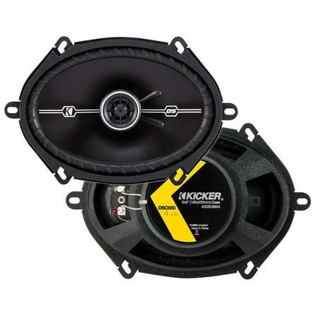 43DSC6804 KICKER 6x8-Inch (160x200mm) Coaxial Speakers,