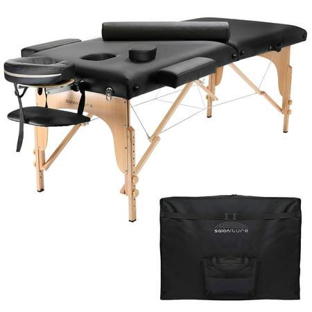 Saloniture Portable Folding Massage Table With Aluminum