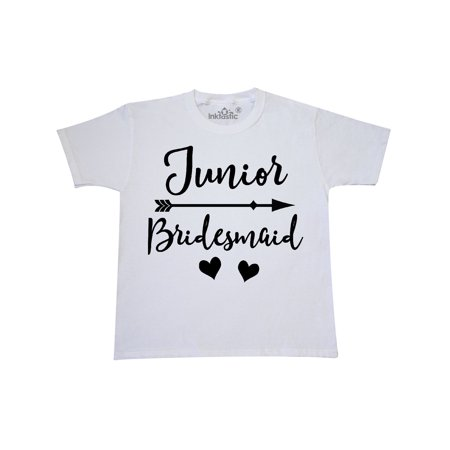 Junior Bridesmaid Wedding Bridal Party Gift Youth T-Shirt (Cheap Bridesmaids Gifts)