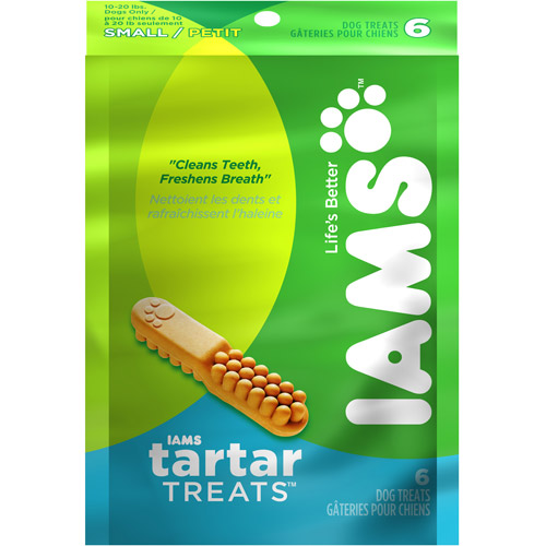 Iams Tartar Treats For Small Dogs, Multiple Sizes Available