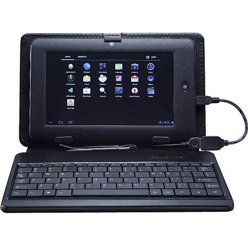 "Double Power T711kit with WiFi 7"" Touchscreen Tablet PC Featuring Android 4.0 (Ice Cream Sandwich) Operating System with Case and Keyboard"