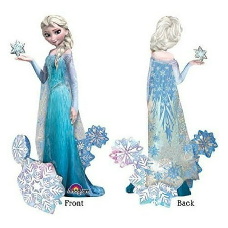 Frozen's Elsa The Snow Queen Airwalker Birthday Balloons Decoration - 57